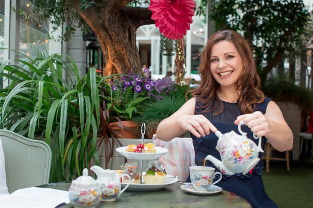 Catherine Fulvio was announced as Siúcra's brand ambassador. Picture: Anthony Woods
