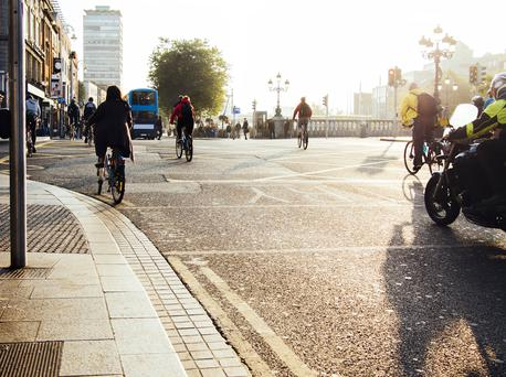 The brighter evenings can mean pedestrians and cyclists become complacent about their visibility
