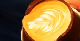 Union Grind on Cork's Union Quay shared videos of their dreamy mocha creation
