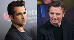 Liam Neeson and Colin Farrell are set to star in a movie together for the first time