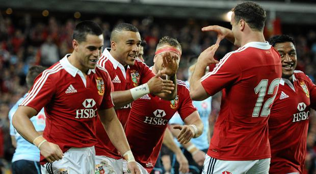 Simon Zebo played on the 2013 Lions Tour after replacing the injured Tommy Bowe