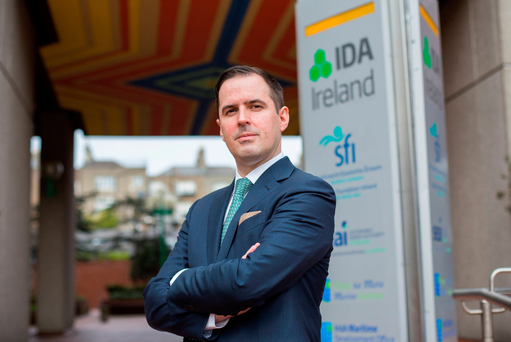 IDA CEO Martin Shanahan asserted that delivery of housing is a key factor in securing FDI. Photo: Mark Condren