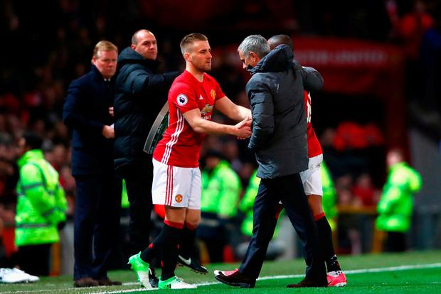 Shaw's career looks set to be over at Old Trafford.