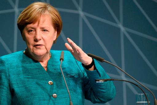 German Chancellor Angela Merkel has pledged to hold social media networks to account
