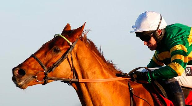 Yanworth, seen here with Barry Geraghty, at Kempton in December. Photo: PA