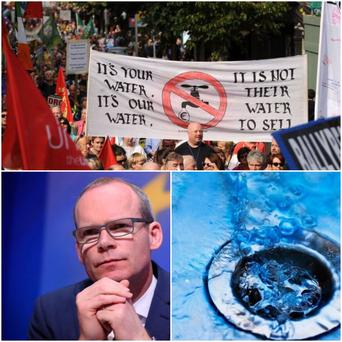 Fine Gael will vote against the report of the committee on water charges today
