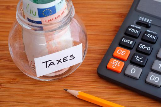 The tax take overall for the first three months of the year totalled €11.49bn, which is €282m – or 2.4pc – below target Photo: Stock Image