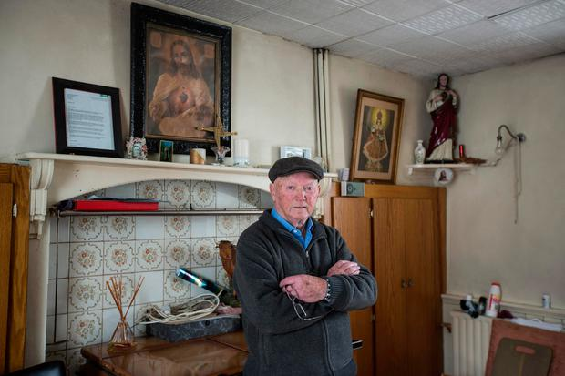 Retired teacher Maurice O'Connor at his home in Ballyduff, Co Kerry. Photo: Mark Condren