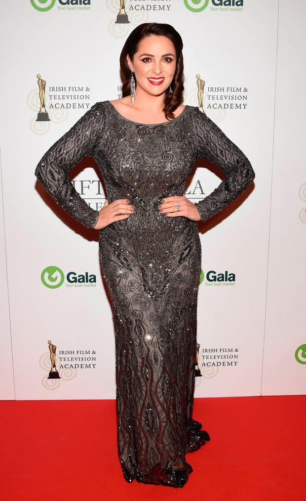 Grainne Seoige at the IFTA Gala Television Awards 2016