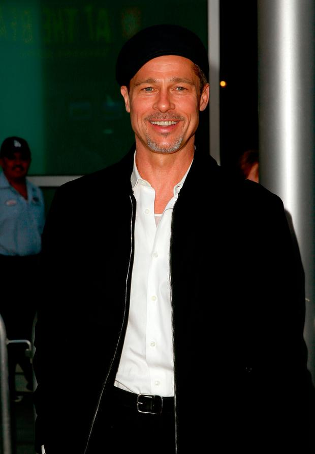 Executive producer Brad Pitt attends the premiere of Amazon Studios'