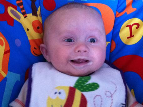 Baby Ruairí was six-months-old when he died after a battle with pneumococcal meningitis.