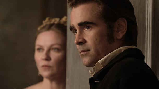 Kirsten Dunst and Colin Farrell in The Beguiled