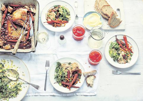 Gatherings: recipes for feasts great and small by Flora Shedden, published by Mitchell Beazley, £25, octopusbooks.co.uk