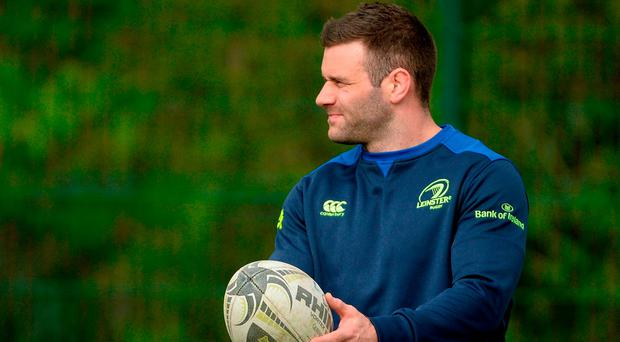 Prior to last week's win over Wasps, McFadden had only featured five times for Leinster this season after he tore his quad against Cardiff back in October. Photo: Piaras Ó Mídheach/Sportsfile