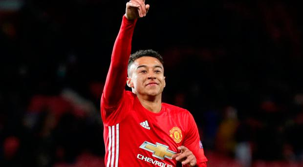 Lingard has now signed an agreement keeping him at Old Trafford until June 2021, with the option to extend for a further year. Photo: PA