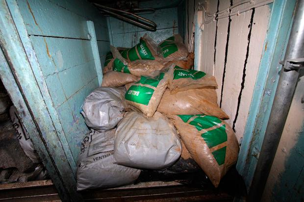 National Crime Agency image of a cocaine haul in the fishing boat The Bianca (Image: PA)