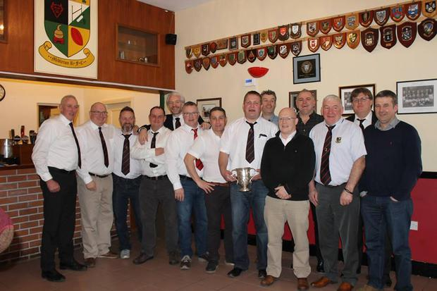 Some of the Midleton squad of 1996/1997 pictured at their recent 20-year reunion