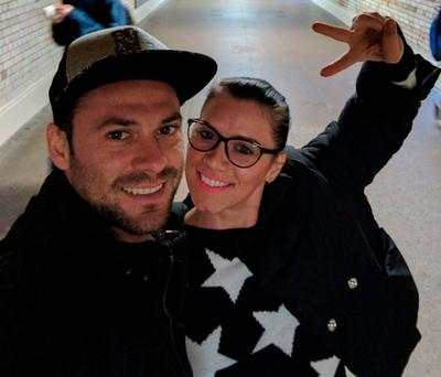 Metropolitan Police of Andrei Burnaz with Andreea Cristea, from Romania, who has died after she was injured in the Westminster terror attack. Handout/PA Wire