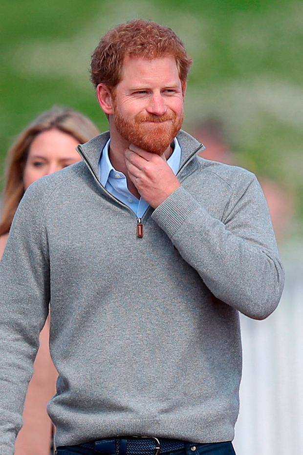 Prince Harry leaves after watching the UK team trials for the Invictus Games Toronto 2017 at the University of Bath Sports Training Village in Bath