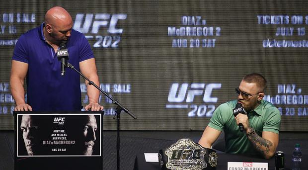 Dana White: 'I can't deny Conor McGregor the Floyd Mayweather fight'