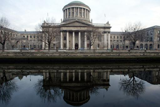 The Four Courts (Stock Image)