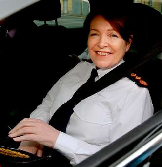 Embattled Garda Commissioner Nóirín O'Sullivan Photo: Tom Burke