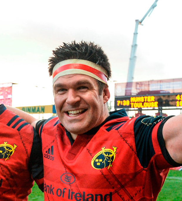 Captain Billy Holland (p) will be joined by Dave O'Callaghan in the second row. Photo: Sportsfile