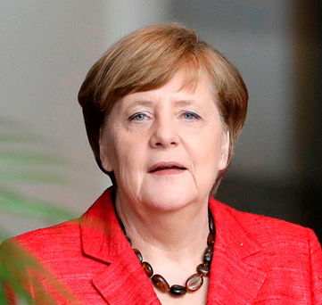 Migrant policy: German Chancellor Angela Merkel. Photo: AP