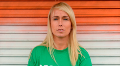"'Do you remember what you said after Stephanie Roche (pictured) became the first woman to make the final shortlist of the FIFA Puskas Award? You said she was ""a fantastic ambassador for Irish football and for our country"".' Photo: Sportsfile"