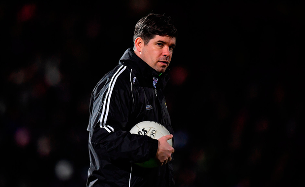 Kerry manager Eamonn Fitzmaurice prior to the Allianz Football League Division 1 Round 2 match between Kerry and Mayo at Austin Stack Park in Tralee, Co. Kerry. Photo by Brendan Moran/Sportsfile