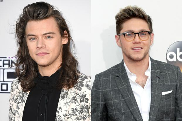 Harry Styles and Niall Horan. Images: Getty