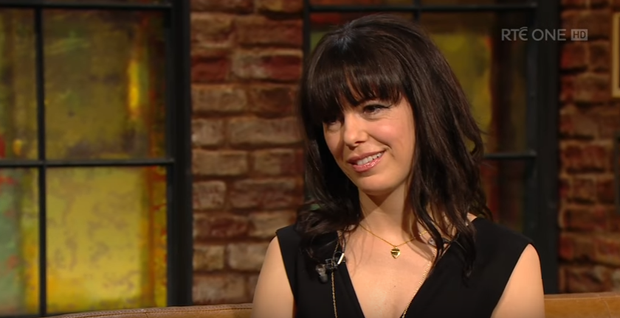 Imelda May on The Late Late Show. Image: RTE
