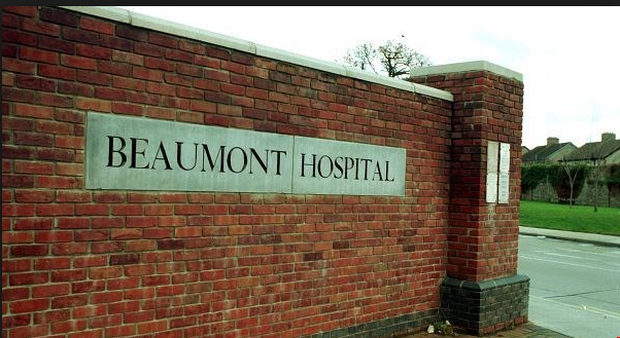 The man has since been transferred to Beaumont Hospital in Dublin