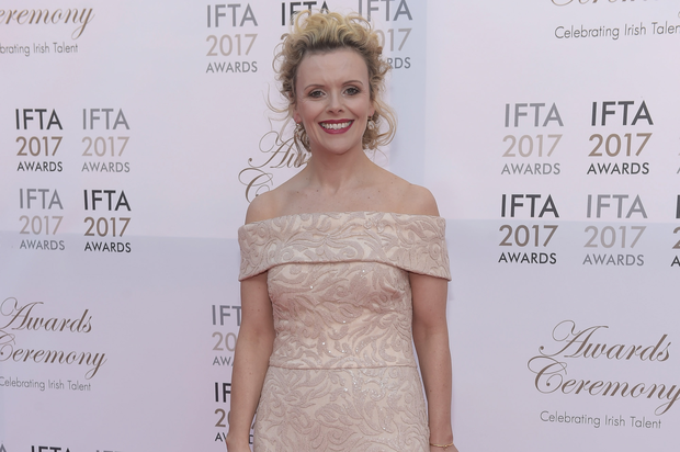 Denise McCormack arriving on the red carpet for the IFTA Awards 2017 at the Mansion House, Dublin. Photo: Michael Chester