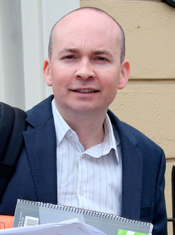 Campaign: Paul Murphy won a seat at Sinn Fein's expense Photo: Tom Burke