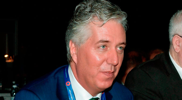 'We can take comfort in knowing that John Delaney will be picking up an extra hundred grand, more or less, courtesy of his new position on UEFA's Executive Committee' Photo: Sportsfile