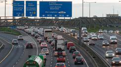 The M50 toll contract is one of the most lucrative public procurement awards. Photo: Arthur Carron
