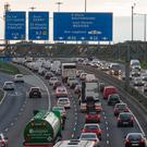 The M50 toll. Photo: Arthur Carron