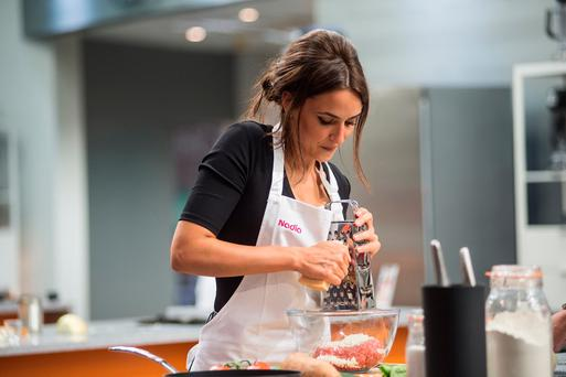 Nadia Forde on Celebrity MasterChef Ireland – it is now on TV3 after switching from RTE Picture: Ruth Medjber