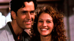 Rupert Everett and Julia Roberts, whose characters in 'My Best Friend's Wedding' were close
