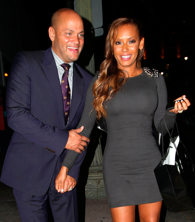 Over: Stephen Belafonte and Mel B are in the divorce courts, with the former Spice Girl alleging physical and emotional abuse