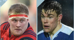 John Ryan for Munster and Garry Ringrose for Leinster are amongst the young talent breaking through.