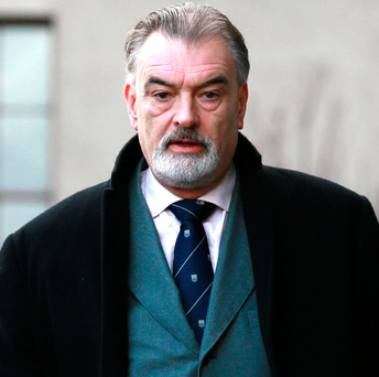 Ian Bailey (pictured) who was the main suspect in the murder of Sophie Toscan du Plantier Photo: Courts Collins