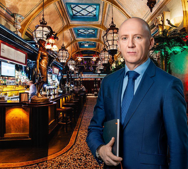 Cafe en Seine is among the many pubs controlled by the Mercantile Group that Frank Gleeson founded