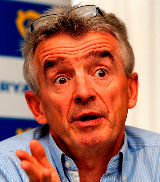 Climate sceptic: Ryanair boss Michael O'Leary Photo: Nick Ansell/PA Wire