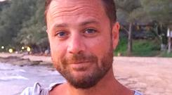 Chris Bevington, (41), a British father who was killed in the Stockholm terror attack, who has been described as a