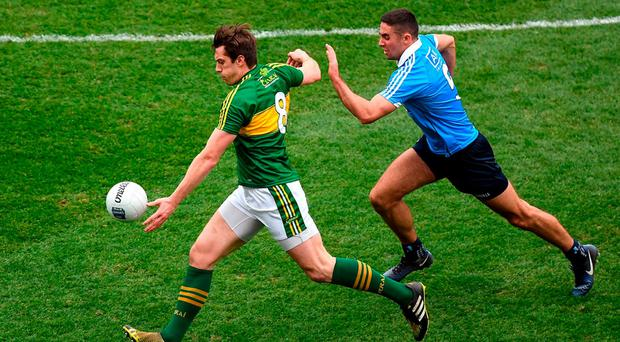 'David Moran's late point summed up everything great about this display.' Photo: Ray McManus/Sportsfile