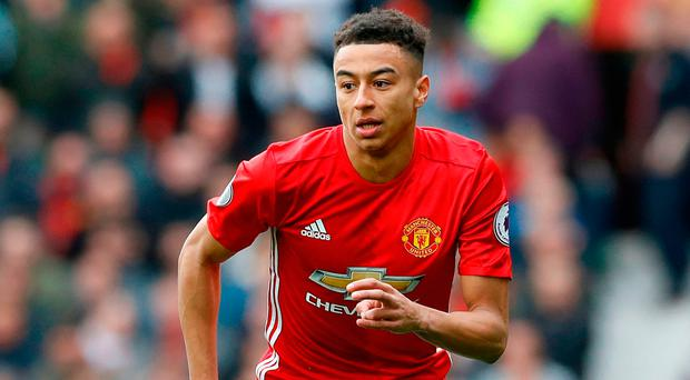 'Lingard has an FA Cup final winning goal to his name and while that and being a home-grown player should earn him a degree of affection among United supporters, it doesn't make him good enough to be playing at the level at which United aspire to be.' Photo credit: Martin Rickett/PA Wire.