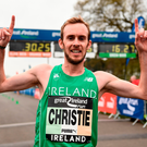 Christie was long considered one of the richest talents in Irish distance running throughout his youth, but had occasionally drifted from the sport in recent years after failing to qualify for the 2012 Olympics. Photo by Seb Daly/Sportsfile