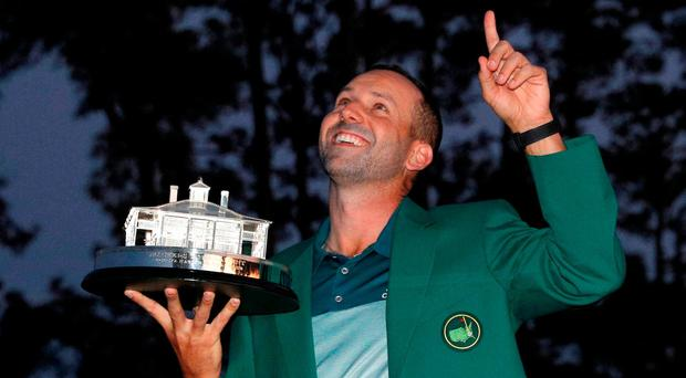 Sergio Garcia: Golf's almost  man finally breaks through
